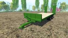 Lowboy trailer Fendt for Farming Simulator 2015