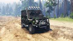 UAZ 3153 Expedition for Spin Tires