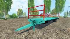Trailer platform for Farming Simulator 2015