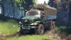 Mercedes-Benz Zetros 2733 A v5.0 for Spin Tires