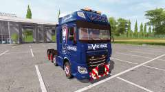 DAF XF Les Vikings for Farming Simulator 2017