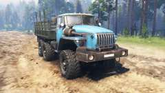 Ural 4320-10 for Spin Tires