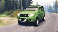 UAZ 3163 Patriot for Spin Tires