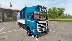 Scania R730 tandem v1.1 for Farming Simulator 2017