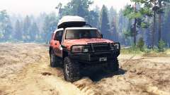 Toyota FJ Cruiser Expedition for Spin Tires
