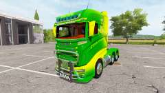 Scania R1000 John Deere v2.0 for Farming Simulator 2017