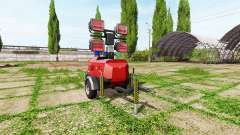 Autonomous mast lighting for Farming Simulator 2017