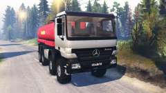 Mercedes-Benz Actros (MP2) 8x8 v1.0