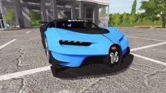 Bugatti Vision Gran Turismo for Farming Simulator 2017