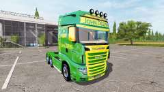 Scania R700 Evo John Deere for Farming Simulator 2017
