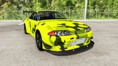 Nissan Skyline GT-R (R32) Rocket Bunny for BeamNG Drive