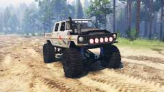 Ford F-250 Crew Cab for Spin Tires