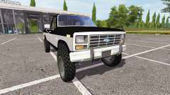 Ford F-250 Ranger for Farming Simulator 2017