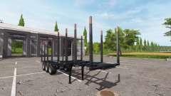 Doepker logging trailer v1.1.0.1 for Farming Simulator 2017