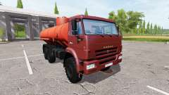 KAMAZ 43118 Flammable