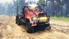 KrAZ 255 of the USSR for Spin Tires