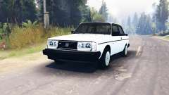 Volvo 242 Turbo 1983 for Spin Tires