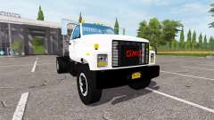 GMC C7500 TopKick flatbed for Farming Simulator 2017
