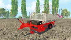 Forage trailer
