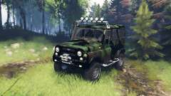 UAZ 315195 hunter turbodiesel expedition v5.0