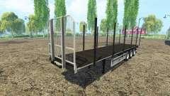 Multipurpose semi-trailer Fliegl v3.0