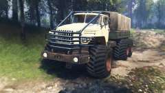 Ural 4320-10 Tungus v3.0 for Spin Tires