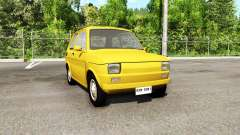Fiat 126p v3.0 for BeamNG Drive
