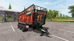 JOSKIN DRAKKAR 8600 flame for Farming Simulator 2017