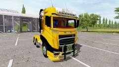 Scania R1000 Caterpillar for Farming Simulator 2017