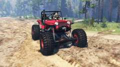 Jeep Willys CJ2A TTC for Spin Tires