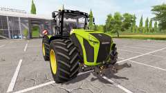 CLAAS Xerion 4500 v3.1 for Farming Simulator 2017