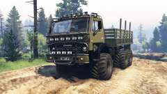 KamAZ 4310 Phantom v1.1 for Spin Tires