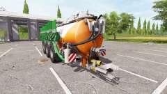 Kaweco 30000l orange for Farming Simulator 2017