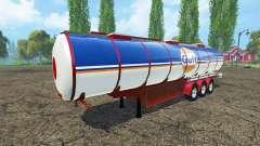 Fuel semi-trailer