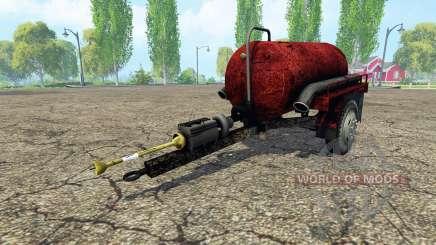 Tank manure for Farming Simulator 2015
