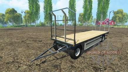 Fliegl bales trailer for Farming Simulator 2015