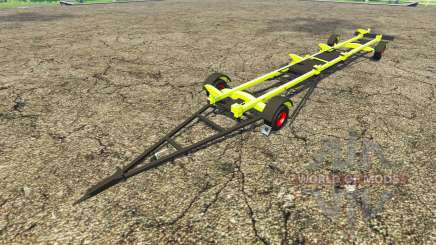Trailer for CLAAS harvester for Farming Simulator 2015