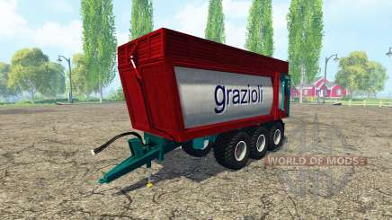 Grazioli Domex 200-6 v2.0 for Farming Simulator 2015