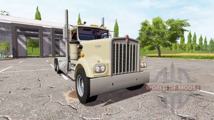 Kenworth W900A for Farming Simulator 2017