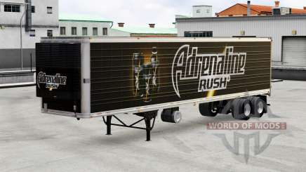 Skins beverages on the trailer for American Truck Simulator