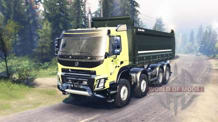 Volvo FMX 2014 for Spin Tires
