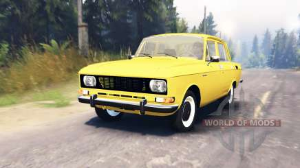 Moskvich 2140 for Spin Tires