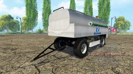 Tank manure v0.8 for Farming Simulator 2015