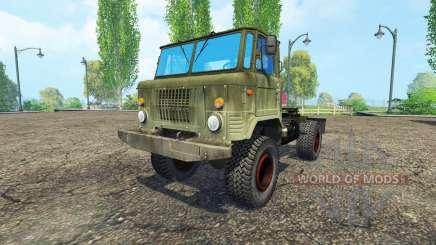 GAZ 66 for Farming Simulator 2015