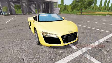 Audi R8 V10 Spyder v1.2 for Farming Simulator 2017