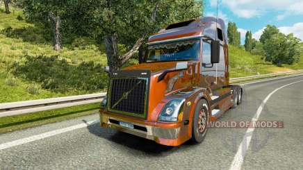 Volvo VNL 670 v5.0 for Euro Truck Simulator 2