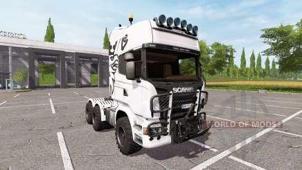 Scania R730 agro v2.0 for Farming Simulator 2017