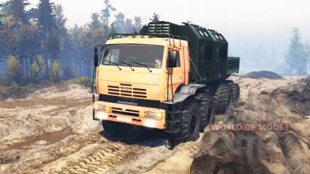 KamAZ Polar v7.0 for Spin Tires