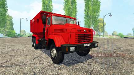 KrAZ 65055 for Farming Simulator 2015