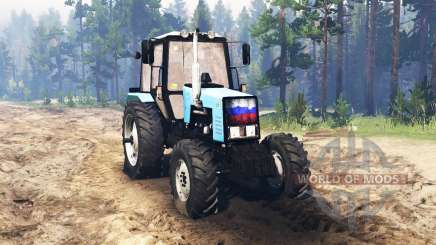 MTZ Belarus 1221.2 for Spin Tires
